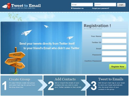 Tweet to Email